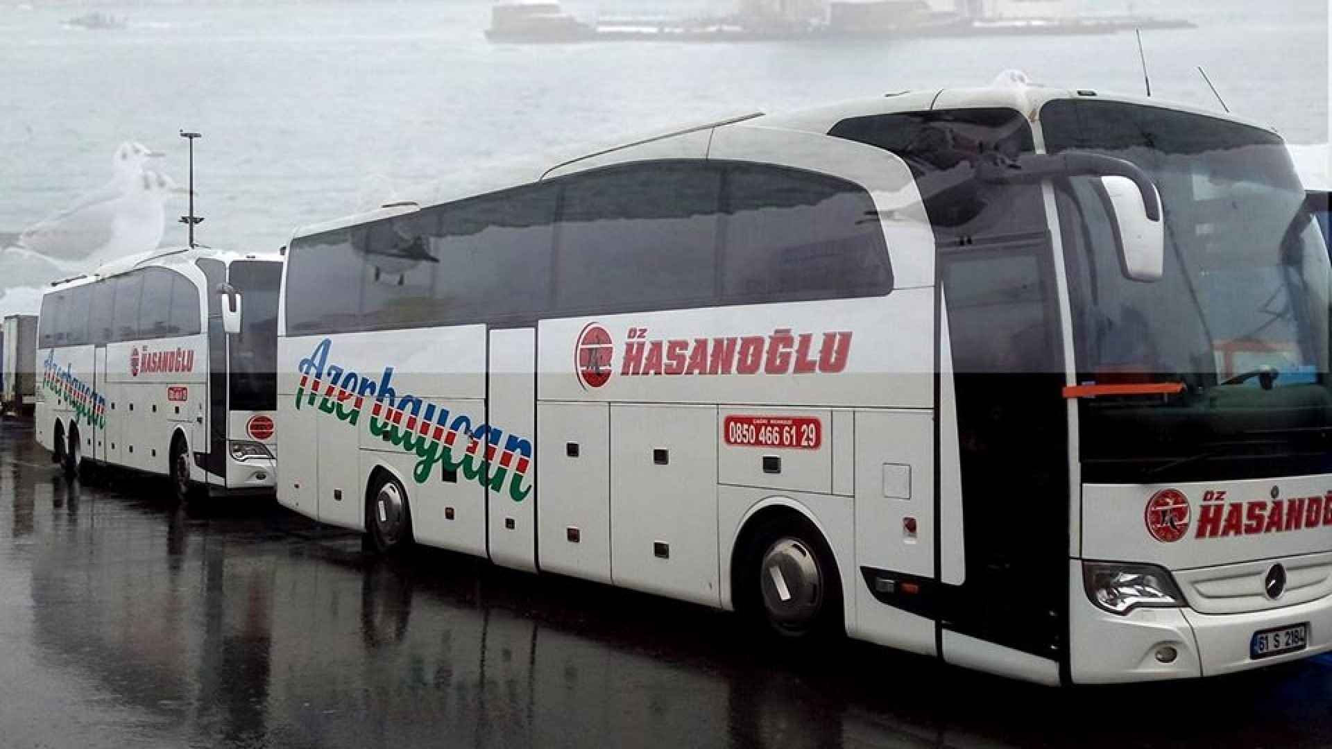 Azerbaijan bus and cargo | Oz Hasanoglu Tourism